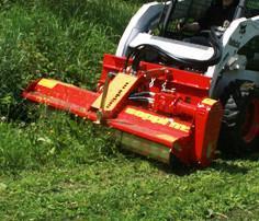 Hydraulic Drive Mulchers | Morin Diesel Forestry